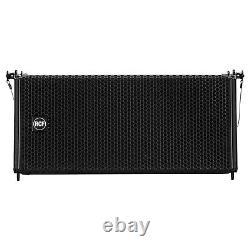 Rcf Hdl 6-a Line Array Haut-parleurs Alimentés (b-stock) Facilement Portable! Hdl6a