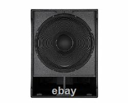 Rcf Sub 8003-as II Woofer 18 Pouces 2200 Watts Active Powered Subwoofer Mk2 II
