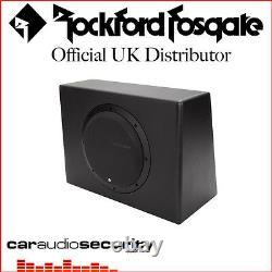 Rockford Fosgate Punch P300-10 Single 10 300 Watt Powered Subwoofer Active