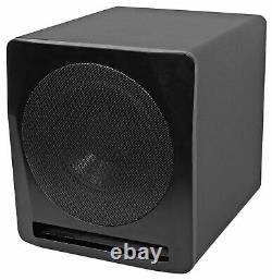 Rockville Apm10b 10 400 Watt Powered/active Studio Subwoofer Pro Reference Sub