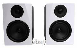 Rockville Apm6w 6.5 2-way 350w Active/powered Usb Studio Monitor Haut-parleurs Paire
