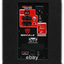 Rockville Rbg15s 15 1600w Sous-woofer Pa Actif Avec Dsp + Limiteur Pro/dj
