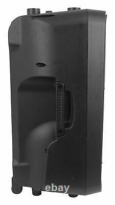 Rockville Titan 15 15 2000w Powered Dj Pa Speaker/bluetooth/dsp/wireless Link