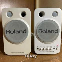 Roland Ma-8 Haut-parleurs De Micro-écran Stéréo Paire De Studios À Puissance Active