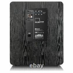 Svs Pb2000 Subwoofer 1500w Actived Sub 12 Classe D Amplificateur De Frêne Noir