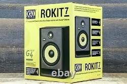 Systèmes Krk Rokit 7 G4 Bi-amp 145w 7 Moniteur De Studio À Champ Proche Alimenté (single)