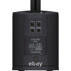 Turbosound Inspire Ip500 V2 Haut-parleur De Colonne Alimenté Avec Subwoofer De 8 Pouces