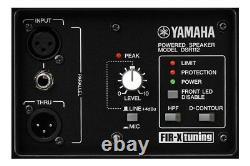 Yamaha Dsr 115 15 Haut-parleur Motorisé