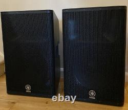 Yamaha Dxr15 Paire De Haut-parleurs Alimentés Dxr-15 Son Incroyable