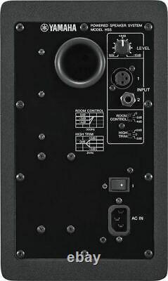 Yamaha Hs5 Propulsé Studio Moniteurs Noir 2