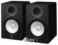 Yamaha Hs8 8 Powered Studio Monitor Paire Noir
