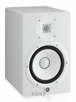 Yamaha Hs8 Powered Studio 8 120w Powered Studio Reference Monitor Blanc